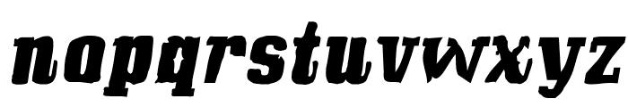 Bullfrog Font LOWERCASE