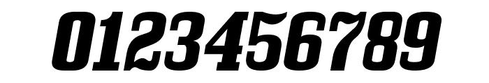 Bullpen Italic Font OTHER CHARS