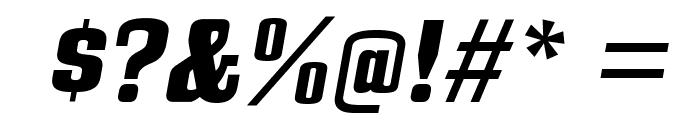 BullpenHv-Italic Font OTHER CHARS