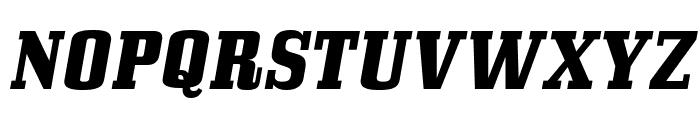 BullpenHv-Italic Font UPPERCASE