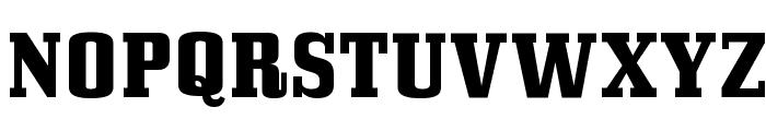 BullpenHv-Regular Font UPPERCASE