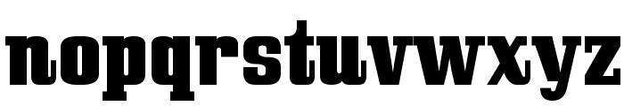 Bullpen Font LOWERCASE