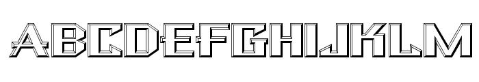 Bulwark NF Font UPPERCASE