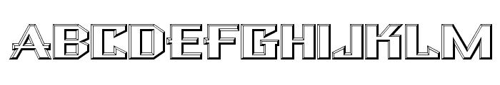 BulwarkNF Font UPPERCASE