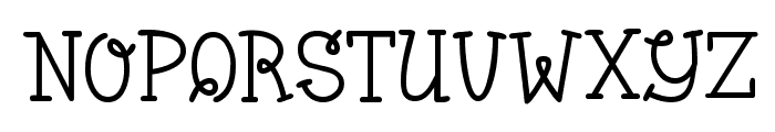 Bumble Bee BV Font LOWERCASE