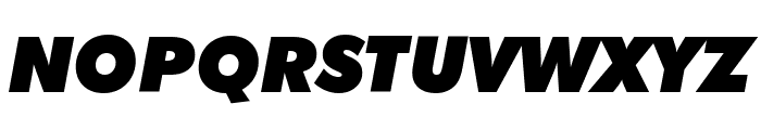 BumbleBee Font UPPERCASE
