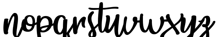 Bunch Blossoms Personal Use Font LOWERCASE