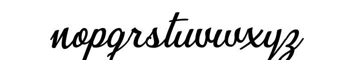 Bunch of Flowers Personal Use Regular Font LOWERCASE
