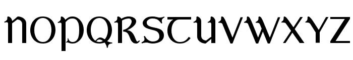 Bunchl? Font UPPERCASE