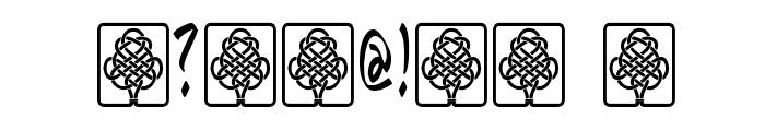 Bunda Font OTHER CHARS