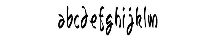 Bunda Font LOWERCASE