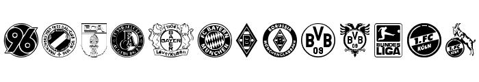 Bundesliga Font UPPERCASE