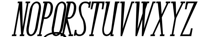 Bunga Cengkih Bold Italic Font UPPERCASE