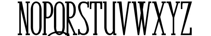 Bunga Cengkih Bold Font LOWERCASE