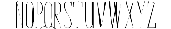 Bunga Cengkih Random Font UPPERCASE