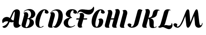 Bungasai Font UPPERCASE