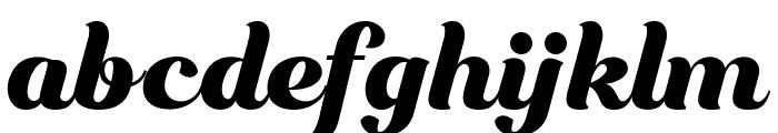 Bungasai Font LOWERCASE