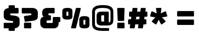 Bungee Regular Font OTHER CHARS