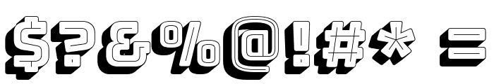 Bungee Shade Font OTHER CHARS