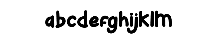 Bunny Hopper Font LOWERCASE