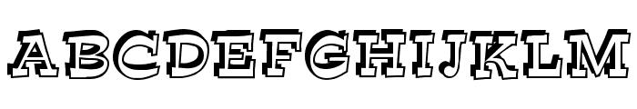 Bunny Lips Font UPPERCASE