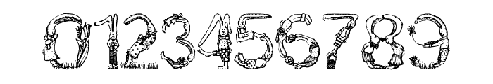 Bunny Rabbits Font OTHER CHARS