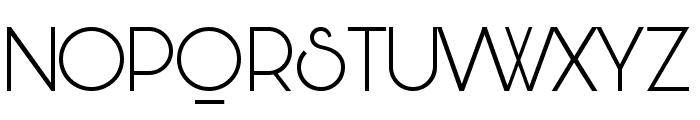 Bunya PERSONAL Light Font UPPERCASE