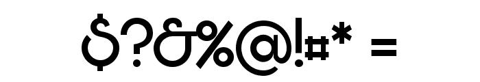 Bunya PERSONAL Regular Font OTHER CHARS