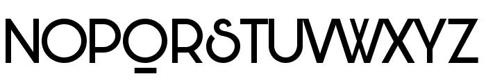 Bunya PERSONAL Regular Font UPPERCASE