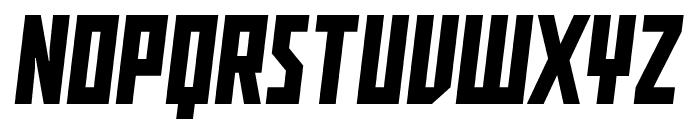 Buran USSR Font UPPERCASE