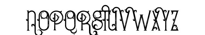 BurenoRegular Font UPPERCASE