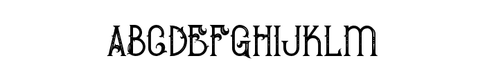 BurenoRegular Font LOWERCASE
