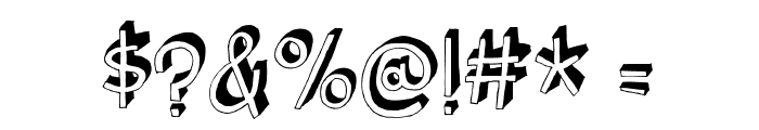 BurgerFrogDEMO Font OTHER CHARS