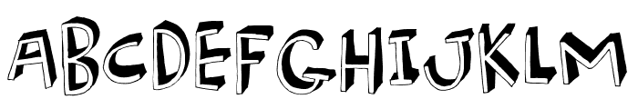BurgerFrogDEMO Font LOWERCASE