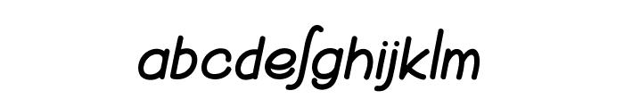 Burglar Font LOWERCASE