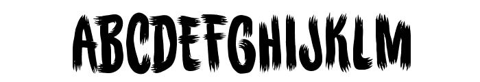 BuriedBeforeBB Font UPPERCASE