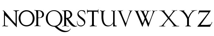 Burklein Font UPPERCASE