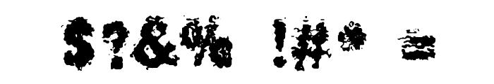 BurliwehSans-Normal Font OTHER CHARS