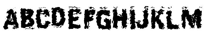 BurliwehSans-Normal Font UPPERCASE