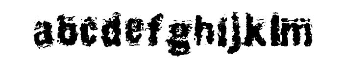 BurliwehSans-Normal Font LOWERCASE