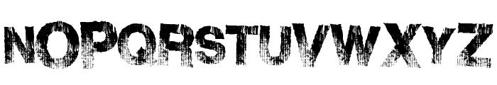 BurnSide Font UPPERCASE