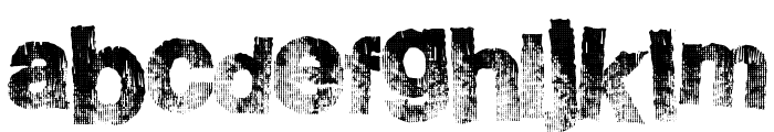 BurnSide Font LOWERCASE