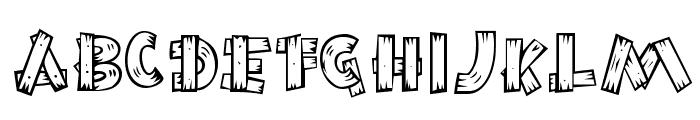 BurnstownDam-Regular Font UPPERCASE