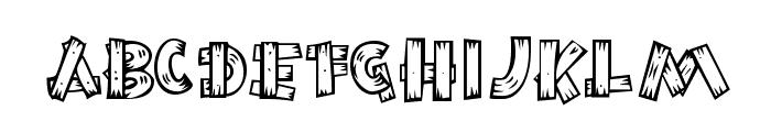 BurnstownDam-Regular Font LOWERCASE