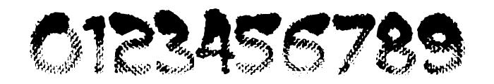 BurntMF Font OTHER CHARS