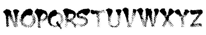 BurntMF Font LOWERCASE