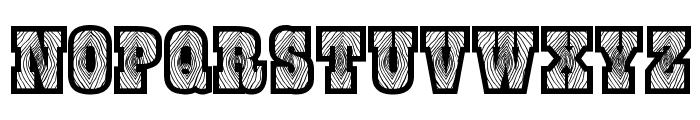 Burris Font UPPERCASE