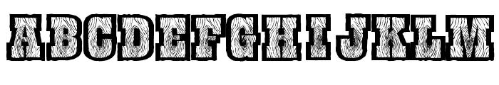 BurrisGhostTown Font UPPERCASE