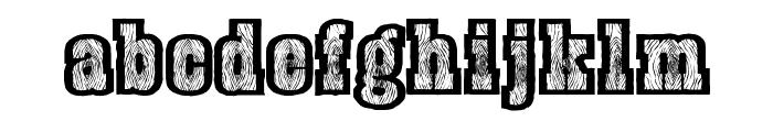 BurrisGhostTown Font LOWERCASE