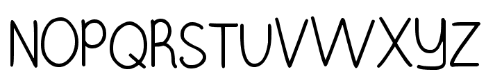 Burst My Bubble Font UPPERCASE
